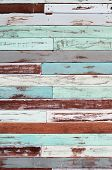 the wood wall old condition many color