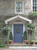 Quaint Blue Door 2