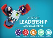 pic of responsible  - Adviser Leadership Management Director Responsibility Concept - JPG