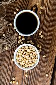 foto of close-up shot  - Soy Sauce in a bowl  - JPG