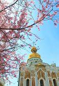 image of kiev  - kiev pechersk monastery in kiev - JPG