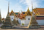 picture of buddhist  - Wat Pho temple - JPG