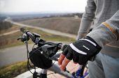 Hands On A Bike Handlebar