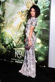 LOS ANGELES - MAR 23:  Vanessa Hudgens arrives at the