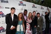 LOS ANGELES - APR 26:  James Durbin, Haley Reinhart, Jacob Lusk, Lauren Alaina, Scotty McCreery and