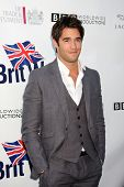 LOS ANGELES - APR 26:  Joshua Bowman arriving at the 5th Annual BritWeek Launch Party at British Consul General's residence on April 26, 2011 in Los Angeles, CA..