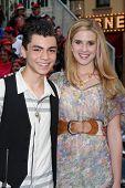 LOS ANGELES - MAY 7:  Adam Irigoyen, Caroline Sunshine arriving at the