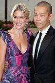 NEW YORK - SEPTEMBER 21: Julie Macklowe and Jason Wu attend the Metropolitan Opera 2009-  on September 21, 2009 in New York City.