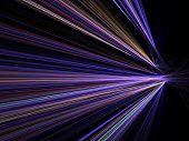 City Lights velocidade Motion Blur