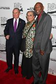 NEW YORK - DECEMBER 06: (L-R) Mayor Michael Bloomberg,  Marian Wright Edelman and Geoffrey Canada attend the  20th Anniversary Celebration Of The Children's Defense  on December 6, 2010 in New York.