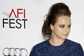 HOLLYWOOD, CA. - NOVEMBER 3: Samantha Morton attends the AFI Fest premier of Everybody's Fine on November 3, 2009 at The  Grauman's Chinese Theater in Hollywood.