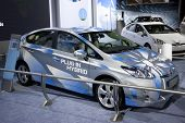 LOS ANGELES, CA. - DECEMBER 3: Toyota Prius Plug-In Hybrid on display at the 2009 Los Angeles Auto Show at L.A. Convention Center on December 3, 2009 in Los Angeles