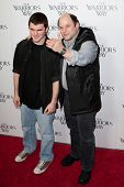 LOS ANGELES. - NOVEMBER 19:  (R-L) Jason Alexander and son Noah attend the special screening of The