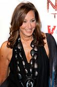 SANTA MONICA, CA. - FEB 22: Fashion designer & creator of DKNY clothing label Donna Karan arrives at