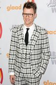 LOS ANGELES, CA. - APR 17: Brad Goreski arrives at the 21st Annual GLAAD Media Awards at Hyatt Regen