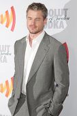 LOS ANGELES, CA. - APR 17: Actor Eric Dane arrives at the 21st Annual GLAAD Media Awards at Hyatt Re