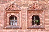 2 Old Windows With Bars