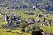 Small village in tuscany, Italy