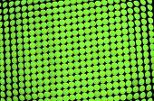 Abstrato verde, fora do painel de LEDs de foco verde