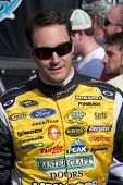 AVONDALE, AZ - APRIL 10: NASCAR driver Paul Menard makes an appearance before the start of the Subwa