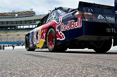 AVONDALE, AZ - APRIL 10: The #83 Red Bull Toyota car, driven by Brian Vickers, awaits the start of t