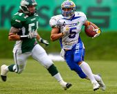 June 2008 Austrian Football League semi-finals - Danube Dragons playing against the Graz Giants - Ju