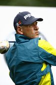 Australia's Peter Fowler competes at the PGA European Tour BMW Open Golf Munich Germany 19 - 22 June