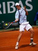 MONTE CARLO MONACO 21 APRIL Andy Murray GBR competing at the ATP Masters tournament in Monte Carlo, Monaco, 19-27 April 2008