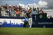KENT ENGLAND JULY 3 England's David Howell tee's off whilst competing at the PGA European Tour Europ