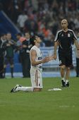 ATHENS - MAY 23: Ricardo KAKA of Milan FC after the final whistle od the UEFA Champions League 2006/