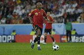 INNSBRUCK - JUNE 10: Marcos Senna of Spain Football National Team during the match Spain-Russia 4:1