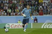 INNSBRUCK - JUNE 10: Iker Casillas of Spain Football National Team during the match Spain-Russia 4:1