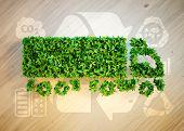 Ecology Logistics Concept. poster