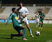 KAPOSVAR, HUNGARY - NOVEMBER 19: Jawad Daniane (2nd from L) in action at a Hungarian National Champi