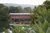 Taftsville Vt  Covered Bridge