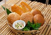 Bread In Braided Basket