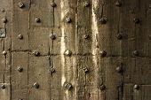 Old Door In City Wall At Berwick Upon Tweed