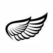 Wing Icon, Wings Logo, Wing Icon Vector, Wing Logo Company, Icon Wing Flying, Eagle Wing Brand And L poster