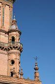 Tower in Plaza Espana, Sevilla