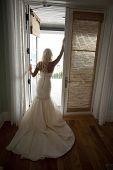Bride in a Doorway