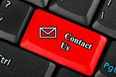 Contact Us Icon Button