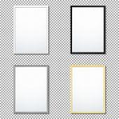Various Frame Mockup Template Set. poster