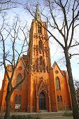 Friedenskirche In Frankfurt (Oder) city, Germany