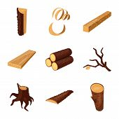 Vector Illustration Of Signboard  And Wood Symbol. Set Of Signboard  And Wooden Stock Vector Illustr poster