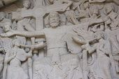 Tympanum Sculpture Of The Last Judgment