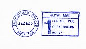 Postmark of Buckingham Palace