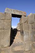 Doorway in Sacsayhuaman Fortress, Peru