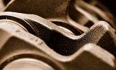 Closeup Crank-shaft