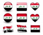 A bandeira iraquiana