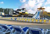 Empty Aquapark